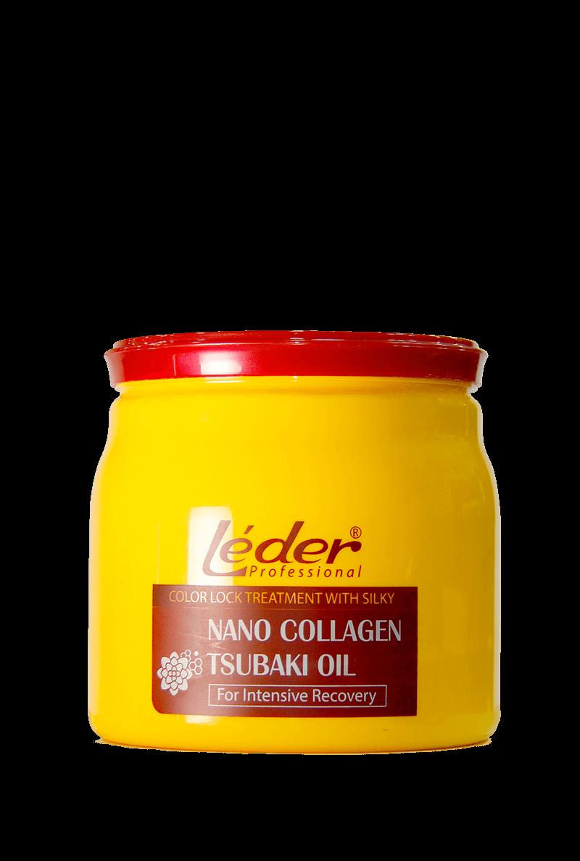 Hấp Khóa Màu Tơ Tằm Nano Collagen & Tsubaki Oil Phục Hồi Chuyên Sâu