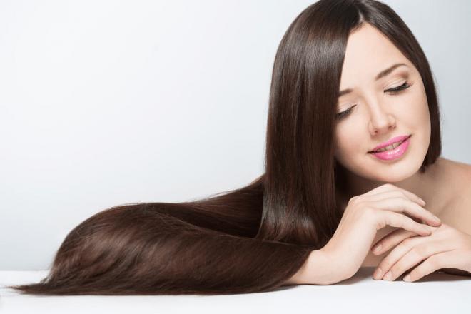 Tóc mọc nhanh hơn và óng ả hơn rất nhiều