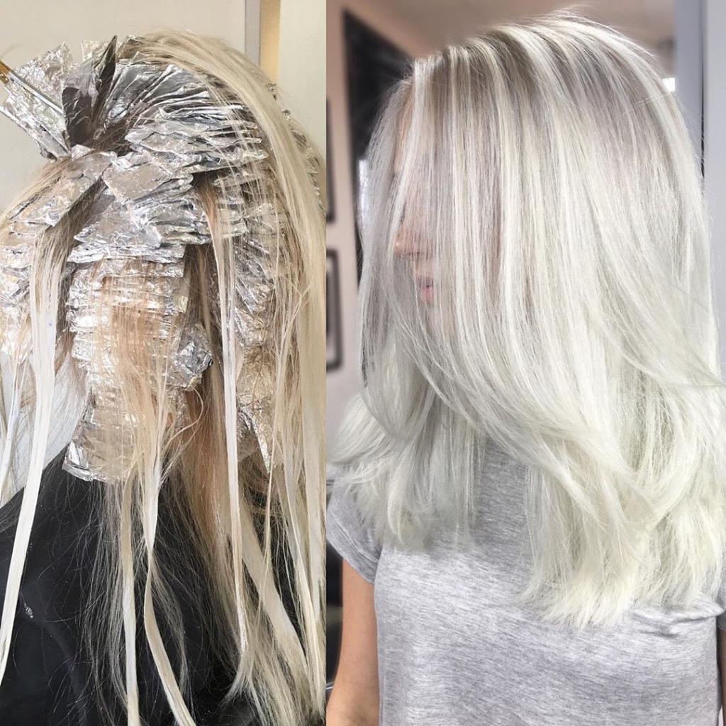 Tìm hiểu các sản phẩm tẩy tóc giúp lên màu chuẩn