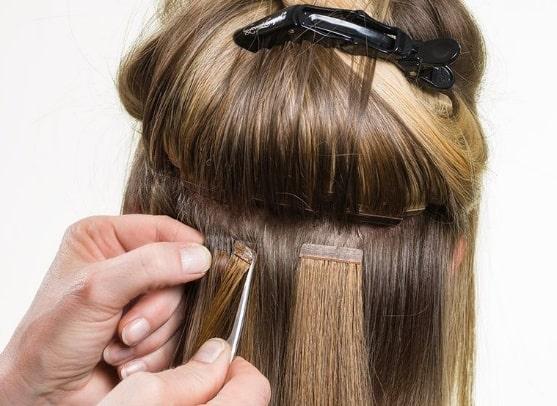 Nối tóc sẽ giúp tóc dày và dài như tóc thật