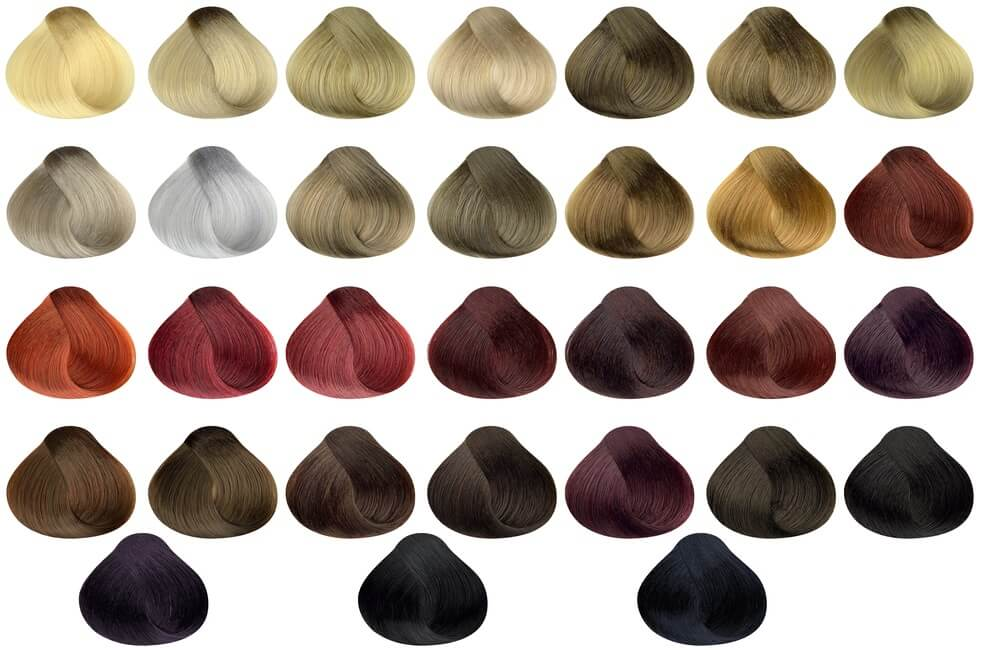 Việc chọn bảng màu cũng khá quan trọng trong việc quyết định màu tóc sau khi nhuộm