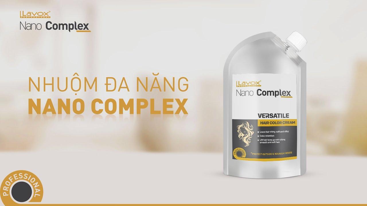 4 chức năng trong 1 sản phẩm nhuộm LAVOX NANO COMPLEX