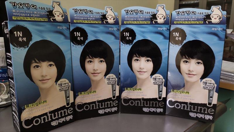Thuốc nhuộm Hàn Quốc của Confume