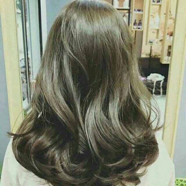 Bạn không cần tẩy mà vẫn có một màu tóc cực thời thượng