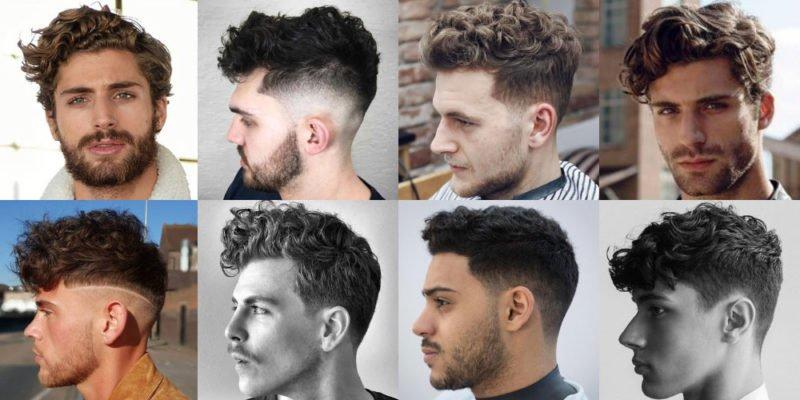 Các kiểu tóc uốn phồng dành cho nam giới chuẩn phong cách Châu Âu