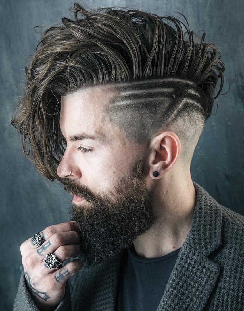 """Mái tóc mang đến cái nhìn đậm chất """"nghệ"""""""