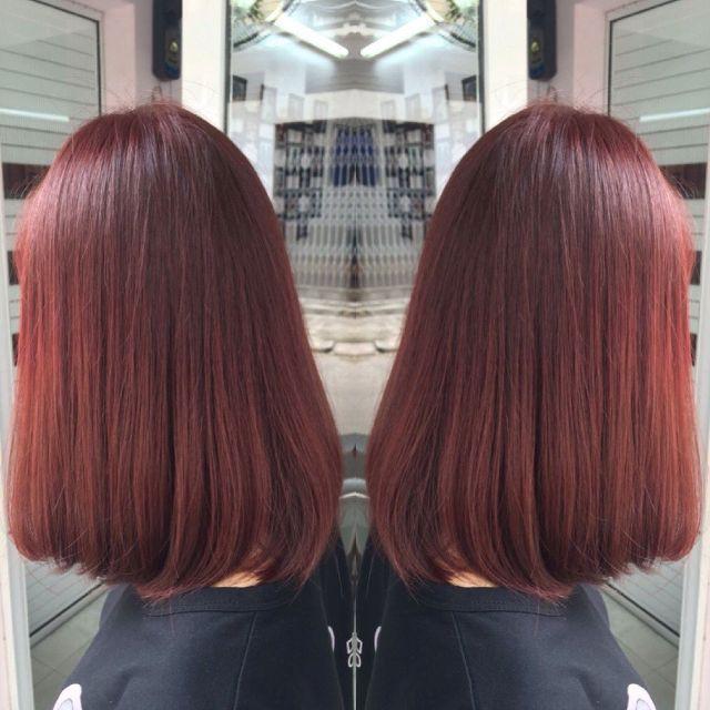 Màu nâu đỏ phù hợp với mọi tông màu da