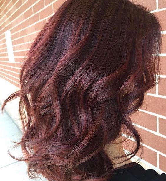 Màu nâu đỏ không cần tẩy nên an toàn cho mái tóc