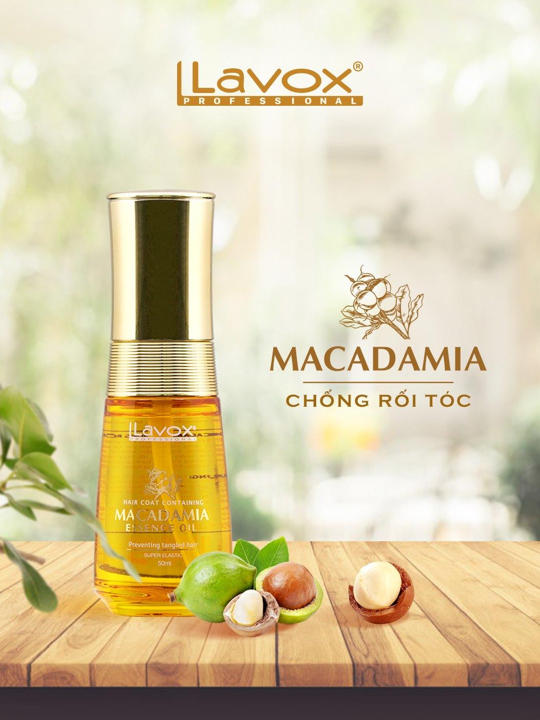 Tinh dầu Macadamia gỡ rối tóc hiệu quả sau một lần sử dụng