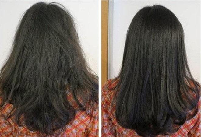Phục hồi mái tóc xơ rối, giúp tóc thẳng mượt hơn