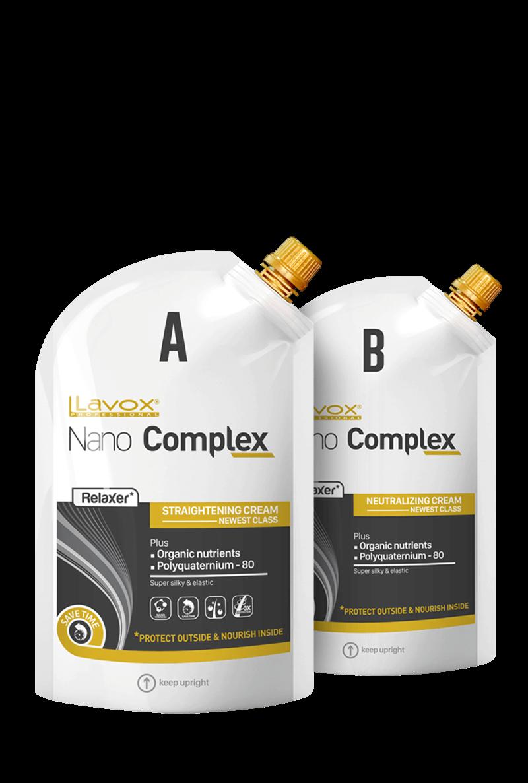 Cho mái tóc thẳng bồng bềnh tự nhiên cùng Lavox Nano Complex Relaxer