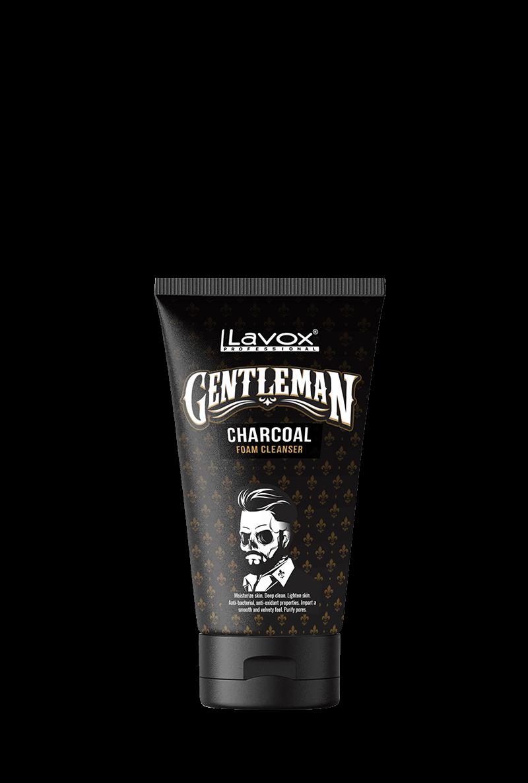 Sữa rửa mặt than hoạt tính dành cho nam da khô Lavox Gentleman làm sạch dịu nhẹ và cân bằng ẩm