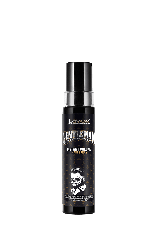 Xịt phồng chân tóc Lavox Gentleman cho nam giới mái tóc dày và bồng bềnh