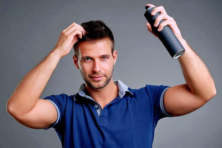 Sử dụng keo xịt loại tốt sẽ ngăn chặn được các nguy cơ gây hại cho tóc và da đầu