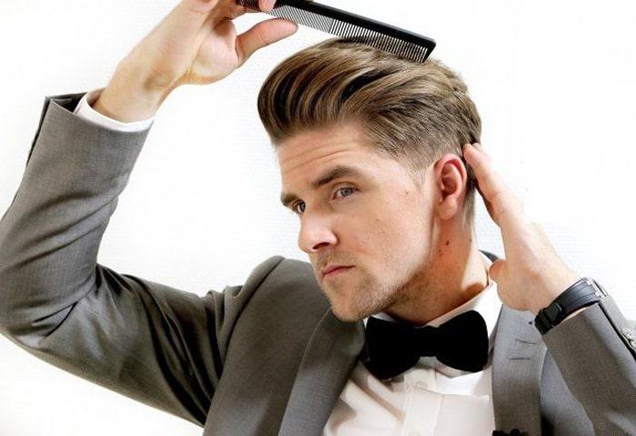 Mái tóc phồng giúp nam giới trông bảnh bao hơn