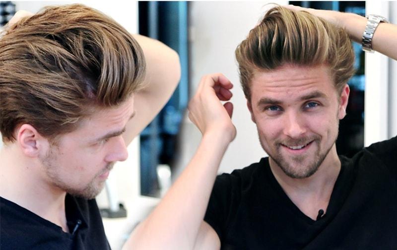 Làm phồng tóc cho nam giới đơn giản chỉ với 5 tuýp sau