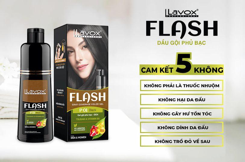 Dầu gội nhuộm tóc màu nâu socola của Lavox được đánh giá hiệu quả nhất hiện nay