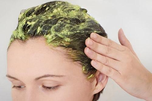 Áp dụng mặt nạ tóc nếu kem ủ của bạn không chứa nhiều dưỡng chất