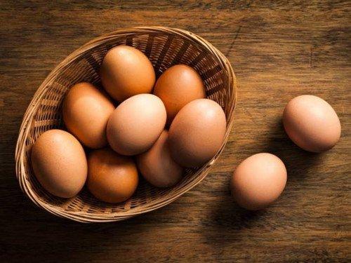 Trứng là nguồn giàu dinh dưỡng cho cơ thể và tóc