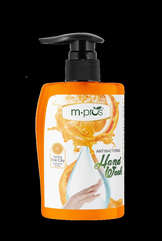 Nước rửa kháng khuẩn hương trái cây M.Pros