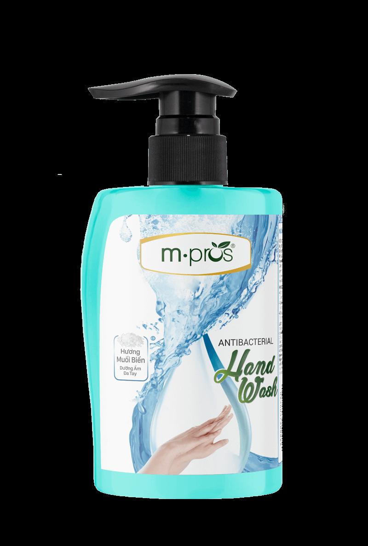 Nước rửa kháng khuẩn M.Pros Muối biển đạt tiêu chuẩn